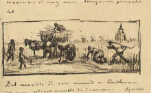 "Картина ""Wheat Harvest"" художника ""Ван Гог Винсент"""