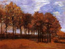 "Картина ""autumn landscape"" художника ""ван гог винсент"""
