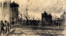 "Копия картины ""City View"" художника ""Ван Гог Винсент"""