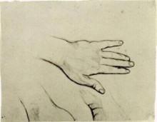 "Копия картины ""hand"" художника ""ван гог винсент"""