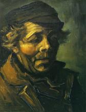 "Копия картины ""Head of a Peasant (Study for the Potato Eaters)"" художника ""Ван Гог Винсент"""