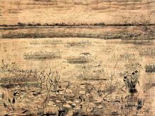 "Копия картины ""marsh with water lillies"" художника ""ван гог винсент"""