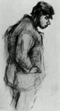 "Картина ""Peasant Boy"" художника ""Ван Гог Винсент"""