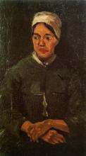 """Картина """"peasant woman, seated"""" художника """"ван гог винсент"""""""