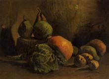 "Копия картины ""Still Life with Vegetables and Fruit"" художника ""Ван Гог Винсент"""