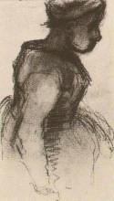 "Копия картины ""peasant girl, half-figure"" художника ""ван гог винсент"""
