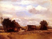 "Картина ""cottage"" художника ""ван гог винсент"""