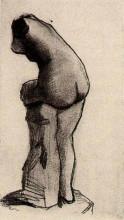 "Копия картины ""plaster statuette"" художника ""ван гог винсент"""