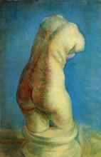 """Картина """"plaster statuette of a female torso"""" художника """"ван гог винсент"""""""