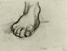 """Репродукция картины """"sketch of a foot"""" художника """"ван гог винсент"""""""