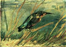 """Картина """"the kingfisher"""" художника """"ван гог винсент"""""""
