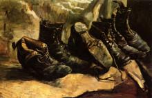 "Копия картины ""Three Pairs of Shoes"" художника ""Ван Гог Винсент"""