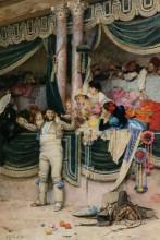 """Копия картины """"the bullfighters adoring crowd"""" художника """"вибер жан жорж"""""""