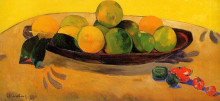 """Копия картины """"Натюрморт с таитянскими апельсинами"""" художника """"Гоген Поль"""""""
