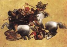 "Копия картины ""Battle of Anghiari"" художника ""да Винчи Леонардо"""