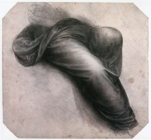 """Картина """"Study for Madonna and Child with St. Anne"""" художника """"да Винчи Леонардо"""""""