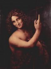 """Репродукция картины """"иоанн креститель"""" художника """"да винчи леонардо"""""""