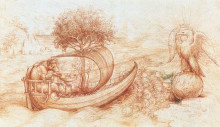 "Картина ""Allegory"" художника ""да Винчи Леонардо"""