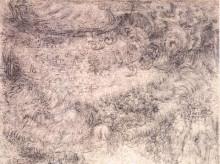 "Копия картины ""Deluge over a city"" художника ""да Винчи Леонардо"""