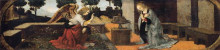 """Картина """"Annunciation"""" художника """"да Винчи Леонардо"""""""