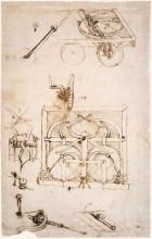 "Копия картины ""Automobile"" художника ""да Винчи Леонардо"""