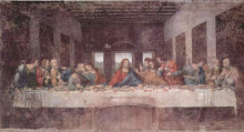 """Репродукция картины """"The Last Supper"""" художника """"да Винчи Леонардо"""""""