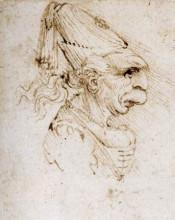 """Картина """"Caricature"""" художника """"да Винчи Леонардо"""""""