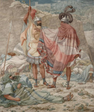 "Копия картины ""Mercy - David Spareth Saul's Life"" художника ""Дадд Ричард"""