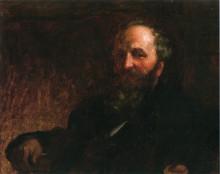 "Копия картины ""Portrait of James G. Wilson"" художника ""Джонсон Истмен"""