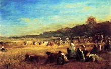 "Картина ""Study for 'The Cranberry Harvest, Island of Nantucket'"" художника ""Джонсон Истмен"""