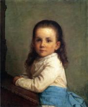 "Копия картины ""Portrait of Vinnie Packard"" художника ""Джонсон Истмен"""
