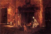 """Копия картины """"Kitchen at Mount Vernon"""" художника """"Джонсон Истмен"""""""