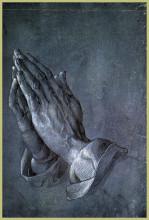 """Репродукция картины """"Руки апостола"""" художника """"Дюрер Альбрехт"""""""