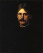 """Копия картины """"Portrait of Montague Flagg (The Wanderer)"""" художника """"Икинс Томас"""""""
