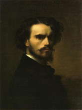 "Картина ""self-portrait"" художника ""кабанель александр"""