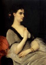 """Копия картины """"Portrait of Countess E.A. Vorontova-Dashkova"""" художника """"Кабанель Александр"""""""