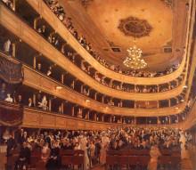 """Репродукция картины """"The Old Burgtheater"""" художника """"Климт Густав"""""""