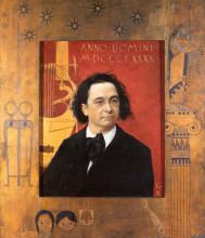 "Картина ""portrait of joseph pembauer"" художника ""климт густав"""