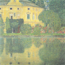 "Копия картины ""Schloss Kammer on the Attersee IV"" художника ""Климт Густав"""