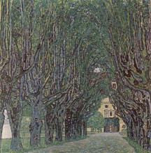 "Картина ""Avenue of Schloss Kammer Park"" художника ""Климт Густав"""