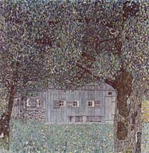 "Картина ""Farmhouse in Upper Austria"" художника ""Климт Густав"""