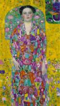 """Репродукция картины """"Portrait Of Eugenia Primavesi"""" художника """"Климт Густав"""""""