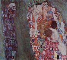 """Картина """"Death and Life"""" художника """"Климт Густав"""""""