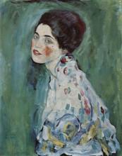 """Картина """"portrait of a lady"""" художника """"климт густав"""""""