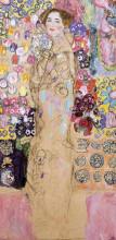 """Картина """"Portrait of Maria Munk (unfinished)"""" художника """"Климт Густав"""""""