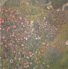 "Картина ""Italian horticultural landscape"" художника ""Климт Густав"""