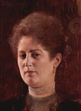 """Репродукция картины """"portrait of a lady"""" художника """"климт густав"""""""