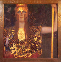 """Репродукция картины """"Minerva or Pallas Athena"""" художника """"Климт Густав"""""""
