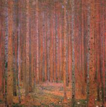 """Копия картины """"fir forest i"""" художника """"климт густав"""""""