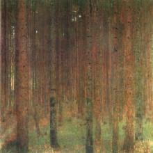"Картина ""pine forest ii"" художника ""климт густав"""